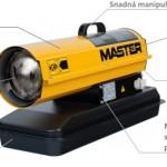 Naftový ohrievač - Master B 65 CEL